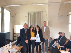 Consegna Borse di studio Corso di Laurea Tecniche erboristiche - vincitrice